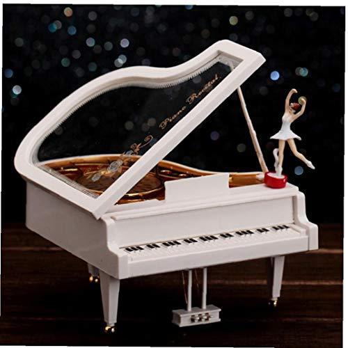 AAGOOD Piano Music Box Klassisches Tanzen-mädchen Klavier Dressing Musik Box Desktop Ornament Handwerk Für Raumdekoration Geschenk Versorgung 1pc
