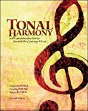 Tonal Harmony 7th (seventh) Revised Edition by Kostka (2012)