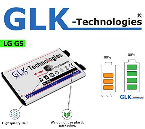 !BLITZVERSAND! -35% NUR Kurze Zeit !! Original GLK-Technologies® Akku // 2950 mAh // passend für/LG G5 / H850 Dual SIM H860N LTE BL-42D1F 2 Jahre GarantiePRODUKT 2020 B.j
