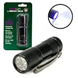 Ultra Light Blacklight Uv Flashlight - Ultraviolet Led Torch