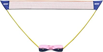 BHHT Portable Badminton Net for Garden Volleyball Net for Outdoor Indoor Beach Sport� Sets Up On Any Surface in Seconds, Badminton Net and Stand
