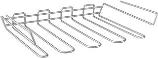 Metaltex Mycristall Colgador de Copas, Metal, Plateado, 38x26x7 cm