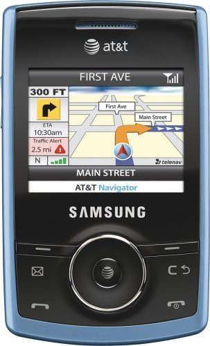 Samsung Propel a767 Phone, Blue (AT&T)