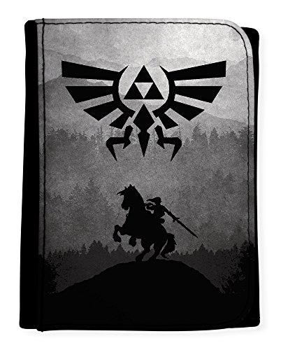 Porte Feuille The Legend of Zelda Ocarina of Time Link et Epona Triforce - Kanto Factory -