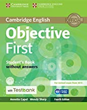 Objective First Student's Book without Answers with CD-ROM with Testbank