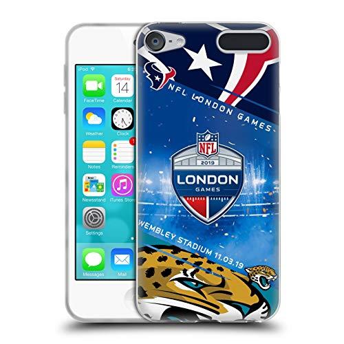 Official NFL Texans VS. Jaguars 2019 London Games Soft Gel Case Compatible for Touch 6th Gen/Touch 7th Gen