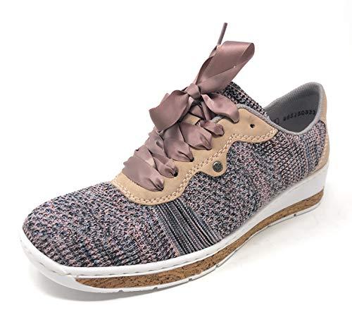 Rieker 597P4-90 Damen Sneaker Halbschuhe Schuhe Sneakers (39)
