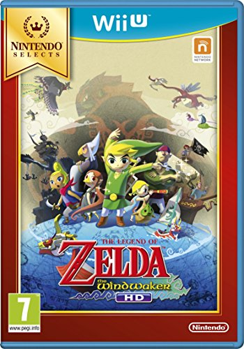 Nintendo, The Legend of Zelda: Wind Waker HD Select per Console Nintendo Wii U