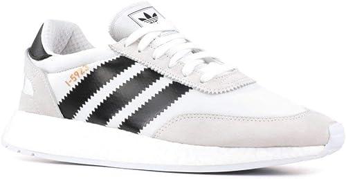 Adidas - Tenis para Correr I-5923 Iniki Hombre, Multi (blanco negro), 11.5 D(M) US