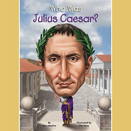 Who Was Julius Caesar? audiobook cover art