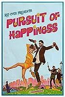 キッド・カディの幸福の追求、マン・オン・ザ・ムーンアルバムキャンバスポスターウォールアートプリントリビングルームの装飾のための絵画-60X80Cmフレームレス