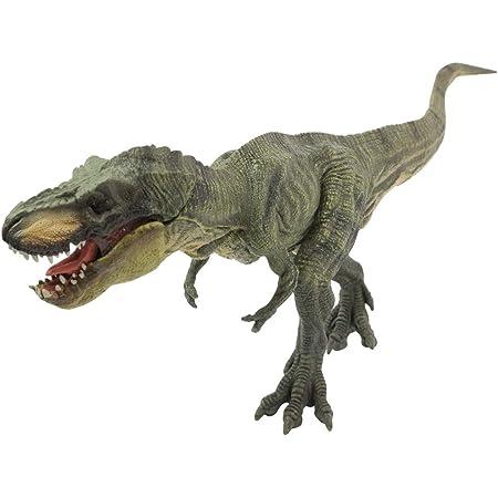 安芸熊屋 大迫力 30cm級 恐竜の王者 ティラノサウルス フィギュア 両足自立 PVC 口開閉 【保証書付き】
