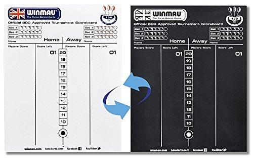 Offizielle Winmau Scorerboard - Schreibtafel