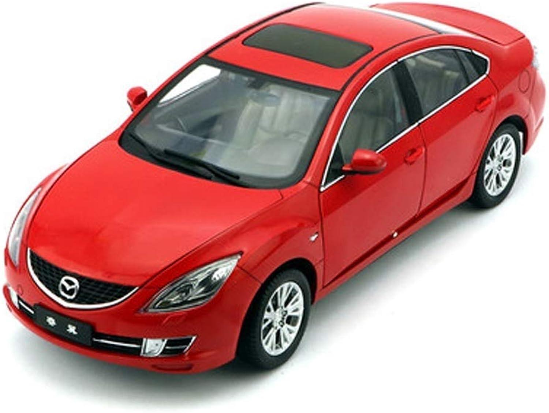 de moda KaKaDz Wei KKD KKD KKD Escala Modelo Simulación Vehículo 1 18 FAW Mazda 6 Ruiyi Metal Coche Deportivo Coche de Juguete Modelo de simulación de aleación Modelo de Coche Decoración Colección ( Color   rojo )  mejor vendido
