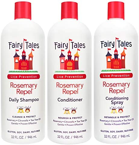 Fairy Tales Rosemary Repel Daily Kids Shampoo Cream Conditioner Conditioning Lice Spray Refill product image