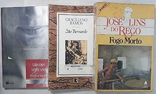 Kit 3 Livros - Fogo Morto, São Bernardo e Lira dos Vinte Anos