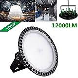 Yuanline 100W UFO Iluminación LED Alta, 120 grados Lámpara Industrial Ultra Delgada,Lámpara Industrial de Blanco Frío 6000-6500K, 10000Lm (100w)