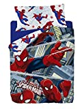 Marvel Spiderman Funda nórdica, Algodón-Poliéster, Multicolor, Cama 80/95 (Twin), 200.0x90.0x25.0 cm, 3 Unidades