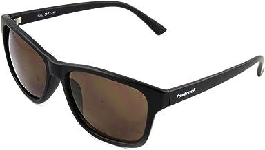 Fastrack UV Protected Wayfarer Men's Sunglasses - (P357BK4|41|Black Color)