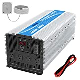 GIANDEL 4000W 24 Volt Heavy Duty Pure Sine Wave Power Inverter DC24V to AC120V with 4 AC Outlets...