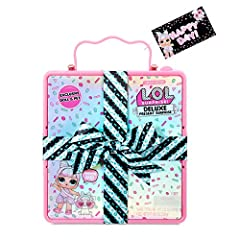 MEET THE PARTY GOERS OF LOL SURPRISE! Hi! I'm Miss Par-tay! You can tell from my name, I love parties and everything with it like party cups, party pack, party toys! But I love my pet puppy most, meet Partay Puppay. A WRAPPED GIFT BOX PACKAGE! Your D...