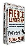 Susan Scott 2 Books Collection Set (Fierce Conversations, Fierce Leadership)