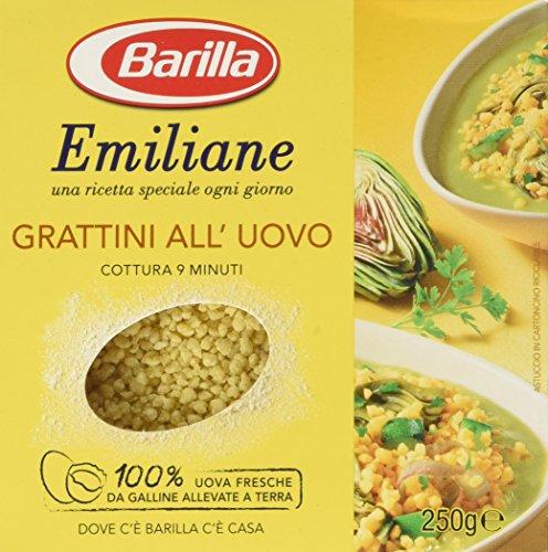 Emiliane Barilla Pastina all'Uovo Grattini, 275 gr