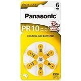 PR10 Hörgerätebatterien PR-10/6LB,...