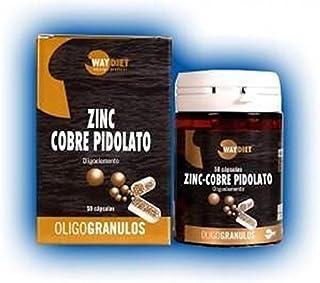 Zinc-Cobre Oligogranulos 50 cápsulas de Waydiet Natural Products