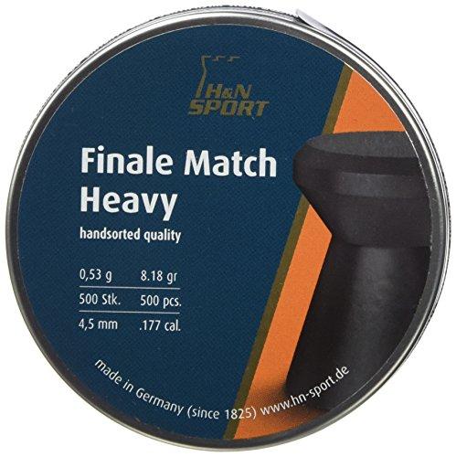 4,50mm 500 .177 Unbekannt H/&N Finale Match Heavy 4,50