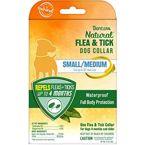 TropiClean Natural Flea & Tick Repellent Collars