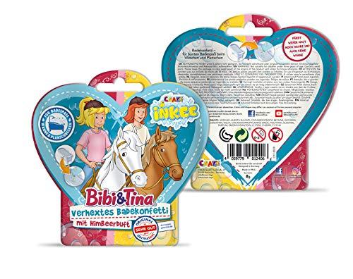 CRAZE Spaßbad Bibi&Tina INKEE Magisches Duft Badekonfetti BIBI & Tina Badespaß für Kinder 12406, bunt