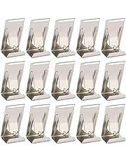 Ankerpunt 100 stks/set foto fotolijst clip foto hangers foto hangende haken voor fotolijst opknoping (zilver) Veelgebruikte bevestigingsmiddelen in doe-het-zelf (Color : Silver)