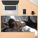Dmsbzd Superficie de Desgaste de Alfombrilla de ratón Animado Protección Personalizar Duradero Grande Ministerio del Interior Alfombrilla de ratón 900 * 400mm (Color : 900mm*400mm, tamaño : 3mm)