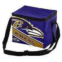 Baltimore Ravens Big Logo Stripe 12 Pack Cooler