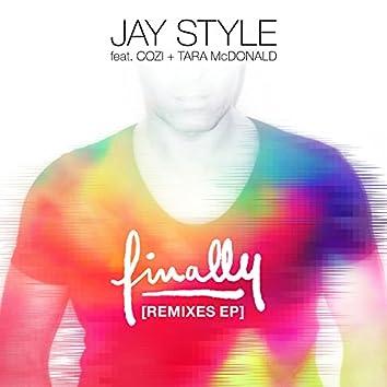 Finally (feat. Cozi & Tara McDonald) [Remixes]