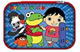 Ryan's World Kids Blue Pencil Case with Zip Closure Hard Molded