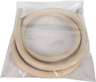 Sanfor Junta de Goma de Sellado para Tapa rápida Adaptable a Olla a presión Monix de 8-10 | Caucho | Blanca | 25 x 1 x 0,1 cm