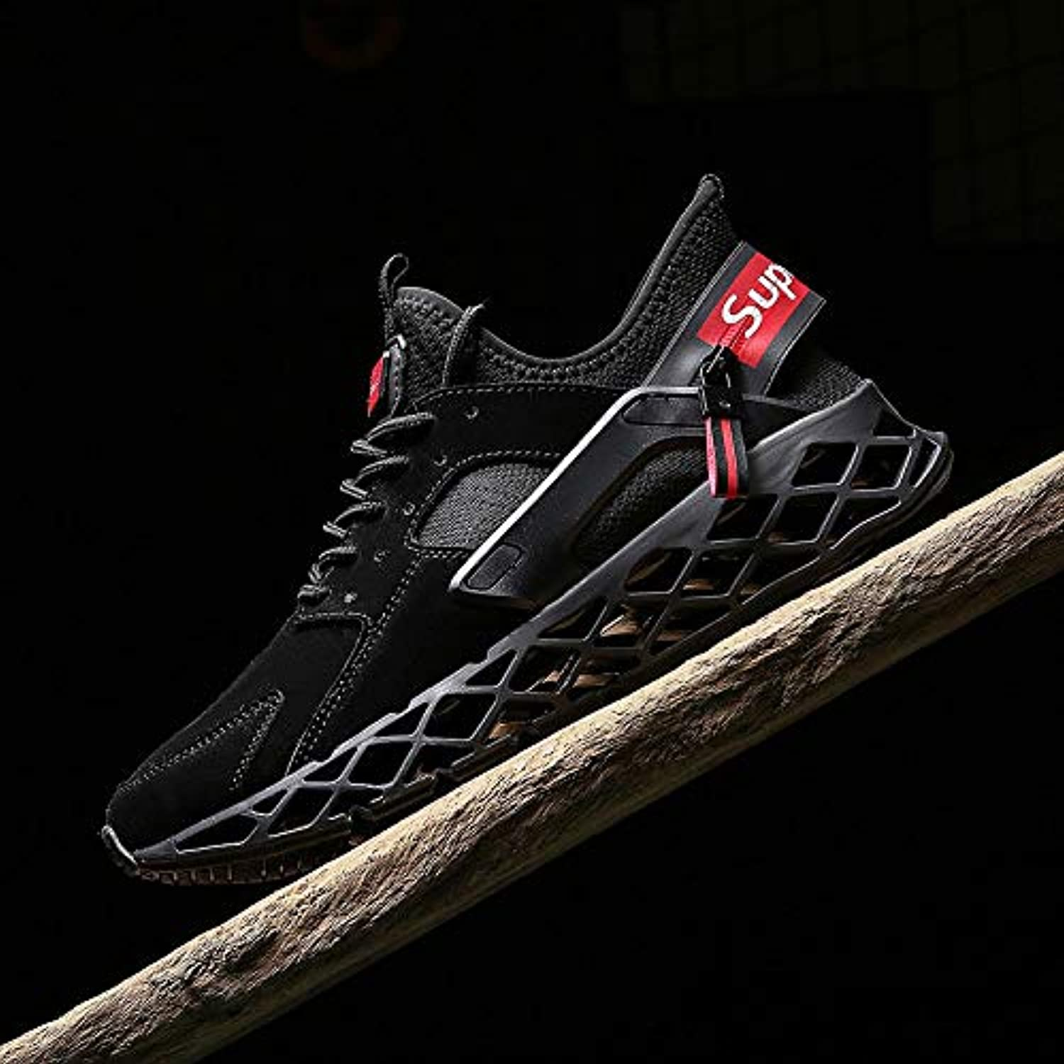 Liuxc sports shoes Sports running shoes, men's shoes, autumn shoes, high-top sports, comfortable and casual shoes