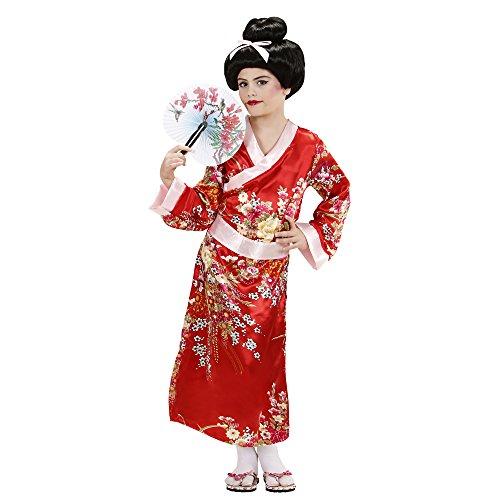 Video Delta Costume da Giapponesina/Geisha, Taglia 5/7 Anni