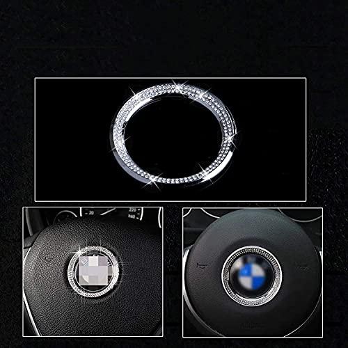 BMW Bling Steering Wheel Logo Cap