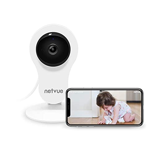 Cámaras Vigilancia WiFi Interior, Netvue HD Cámara IP con Visión Nocturna, Detección de Movimiento
