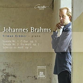 Brahms: Piano Sonatas Nos. 1 & 2, Scherzo, Op. 4