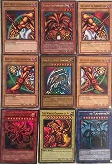 Yu-Gi-Oh!! Blue Eyes White Dragon! EXODIA! God Cards! 500 Card Lot! with RARES Guaranteed!