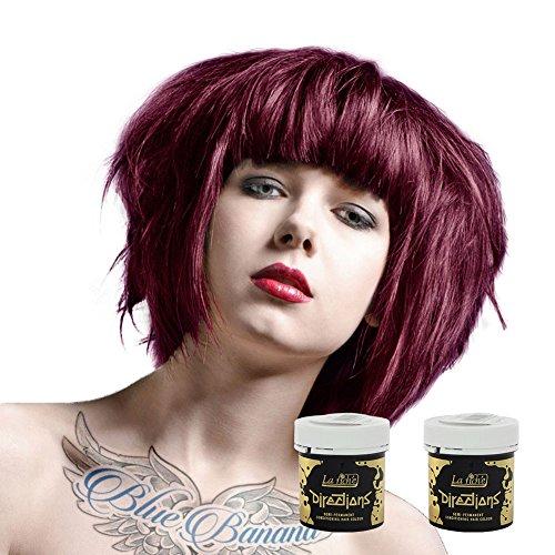 2x La Riche Directions Haarfarbe 88ml (Dark Tulip - Dunkle Tulpe)