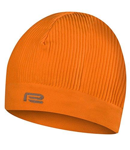 Prosske Bonnet de sport SM XDry - Pour course à pied, ski, cyclisme, homme et enfant - Plusieurs couleurs (orange, L/XL)