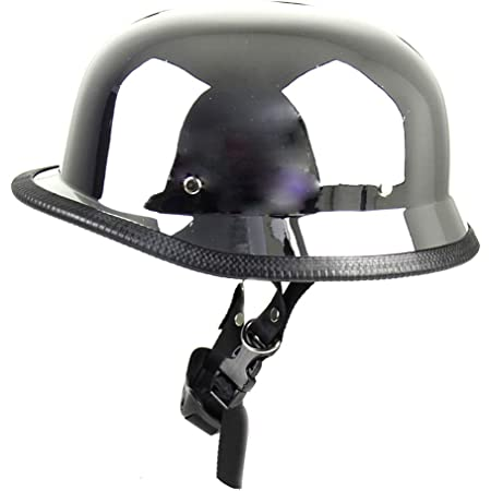 Mangen Stahlhelm Halbhelme Helm Motorradhalbhelm Jethelm Kreuzer Chrom Auto