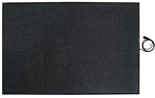 INROT Heiz Systeme 70127 Teppichheizung INROT wasserdichte Teppichheizmatte 180x120cm, 680 Watt, grau