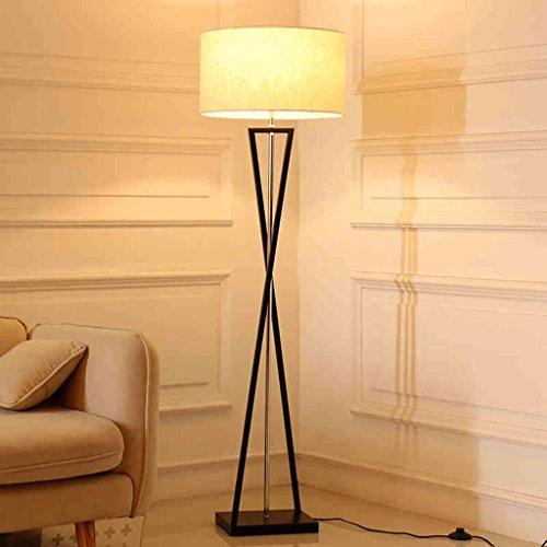 Good thing Lampadaire Lampadaire Joker Moderne Minimaliste Salon Chambre Creative LED Télécommande Lumière (Couleur : White - 12W LED)