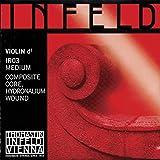 Thomastik Infeld Red 4/4 Violin D String - Hydroalium/Synthetic - Medium Gauge